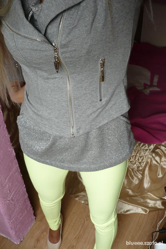 Mój styl Szarość & neon
