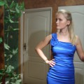 Sukienka weselna 34 36 38 na jedno ramię