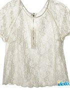 Bluzeczka oversize koronkowa