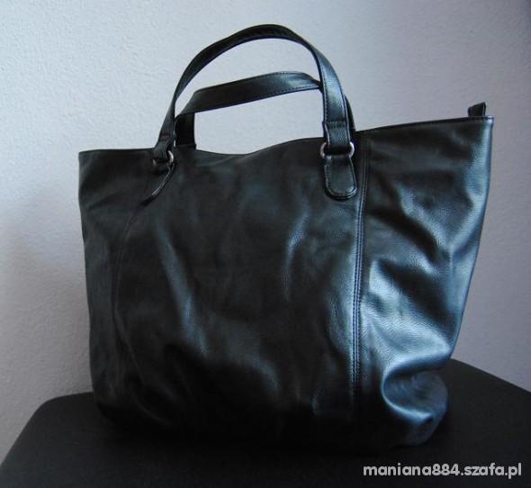b681c64842a02 Torebki na co dzień Torebka XXL torba RESERVED czarna duża jak NOWA