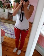 Moje nowe czerwone spodenki