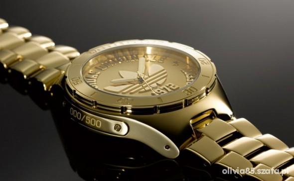 zegarek cudoo pozlacany...