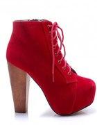 Czerwone Lity z Czas na buty