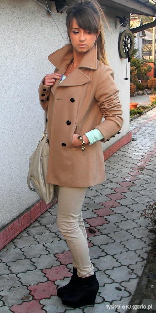 Ubrania Płaszczyk Camaieu