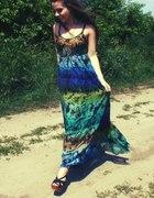 Sukienka Maxi Boho Hippie Orsay