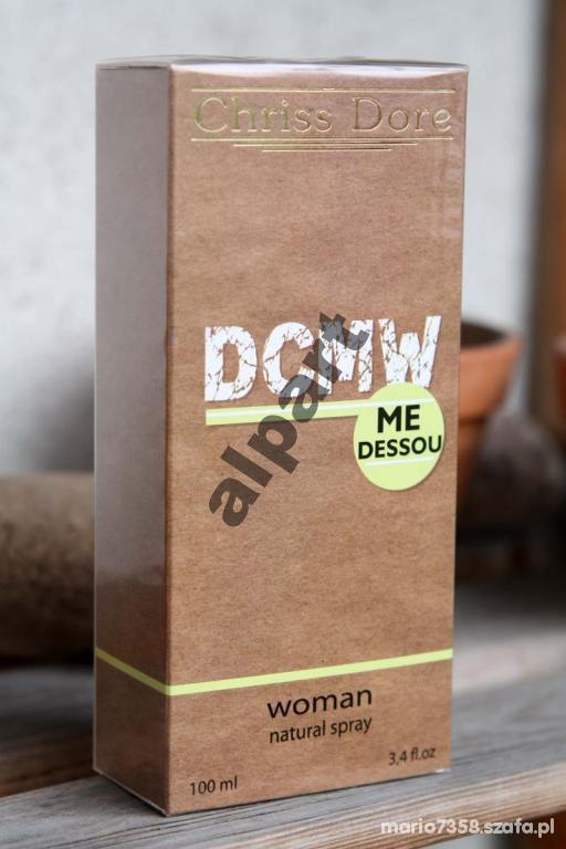 Perfumy Chriss dore dcmw 100 ml świeży zapach dkny