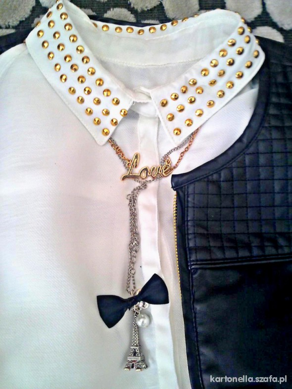 Mój styl biała koszula bershka