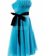 Błękitna sukienka jakie buty