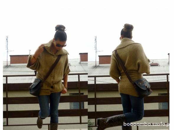 Mój styl zimno i deszczowo