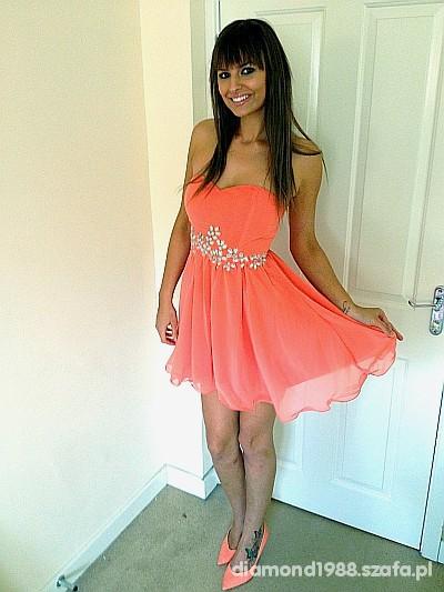 morelowa sukienka new look