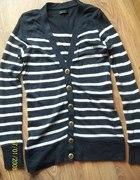 Długi sweterek kardigan marynarski guziki Vero mod...