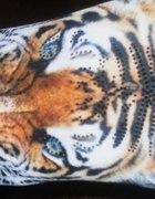 Legginsy w tygrysy