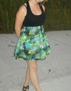 Wzorzysta sukienka Fishbone