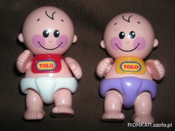 Zabawki dwa bobaski tolo