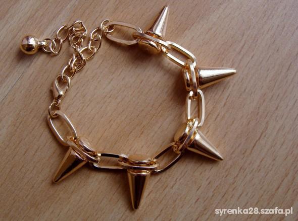 złota z kolcami