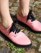 H&M creepers różowe pink
