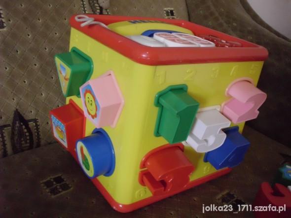 Zabawki duuży interaktywny sorter z atrakcjami