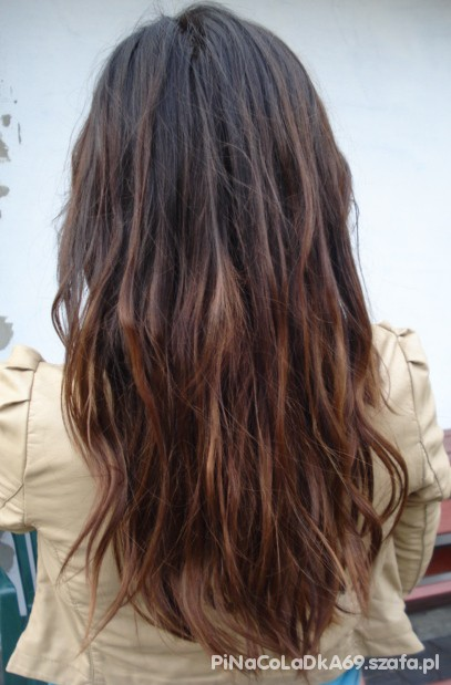 Włosy dekoloryzacja