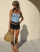 jeans top...