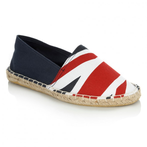 DEBENHAMS ESPADRYLE FLAGA 37 UK 4...