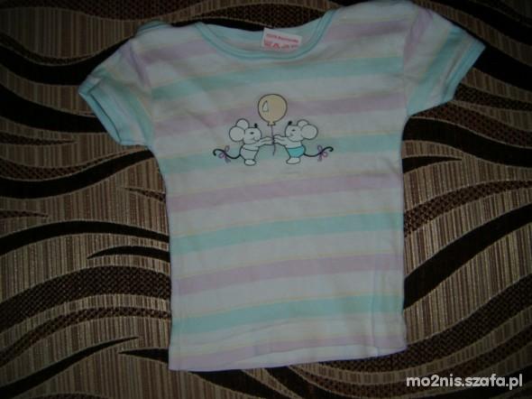 Koszulki, podkoszulki Koszulka z myszkami 68 cm