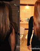 doczepiane włosy clip in średni brąz