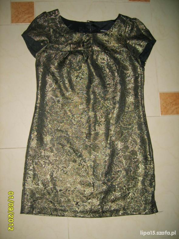 Suknie i sukienki Piekna złota sukienka 40