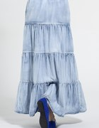 jeansowa maxy spódnica...