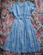 Sukienka rozkloszowana lata 50...