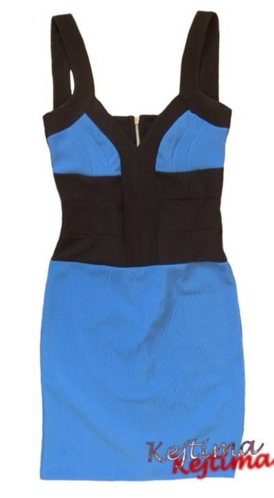 Suknie i sukienki bandage zip