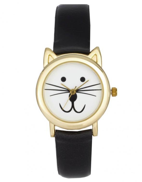 zegarek z kotkiem...