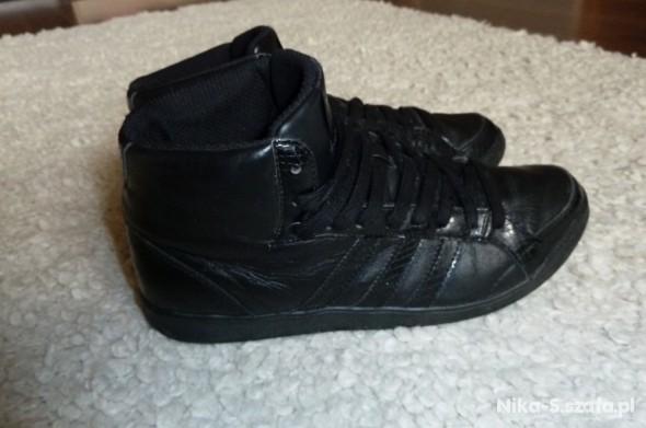 Adidas oldschool high wysokie czarne w Sportowe Szafa.pl