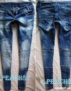 Bershka spodnie przeszycia