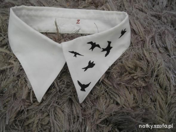 Pozostałe Birds jaskółki ptaki collar kołnierzyk DIY