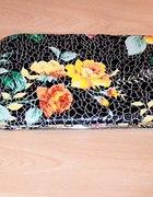 xxl usztywniany floral cropp