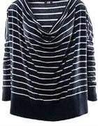 sweter z dekoltem typu woda H&M