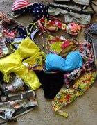 Moje zdobycze stroje kąpielowe