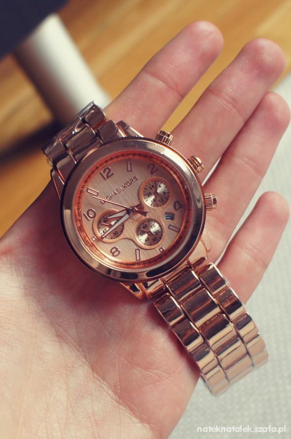 613f720be95c6 Zegarek Michael kors różowe złoto w Zegarki - Szafa.pl