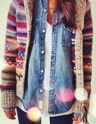 jesienny jeans