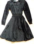 Sukienka gothic gotycka welur