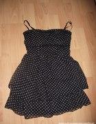 Czarna Sukienka W Grochy TALLY WEIJL