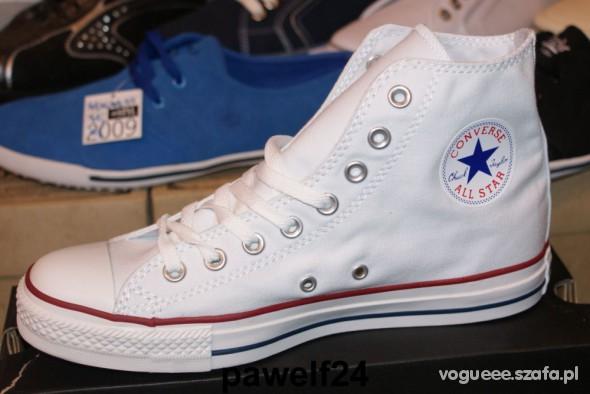 Converse białe NOWE
