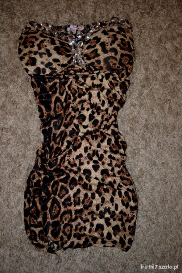 Suknie i sukienki Panterka Tally Weijl Must Have