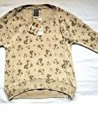 sweterek oversize beżowy