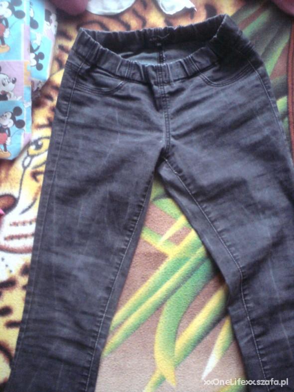 Spodnie AMISU DŻINSY JAK LEGGINSY
