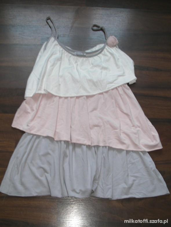 Suknie i sukienki Sukienka z falbankami