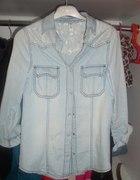 Atmosphere primark jeans koronka koszula...