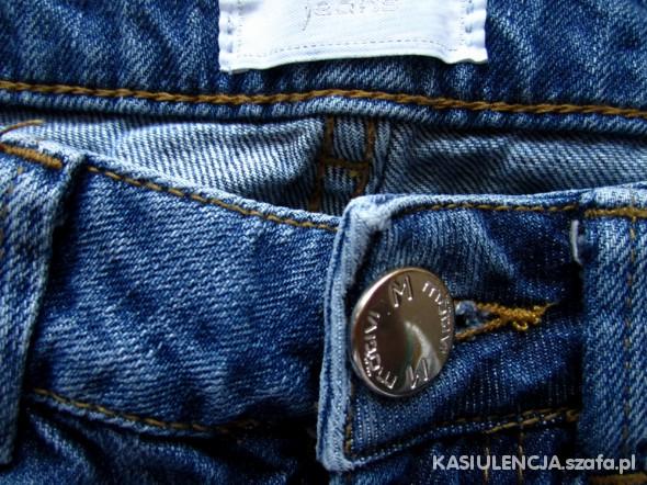 Spodnie Jeansy MOTIVI 36 małe 38 poprzecierane