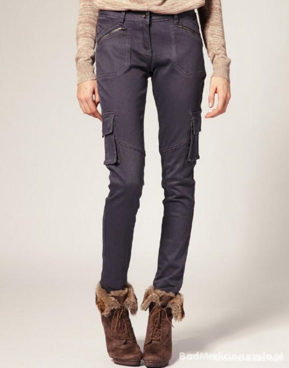 Spodnie Rurki bojówki diverse