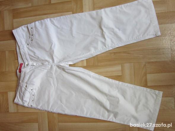 Spodnie Spodnie biale XXL